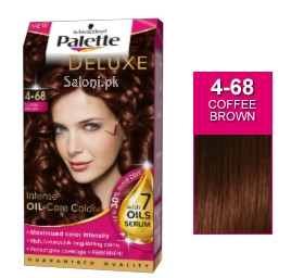 Schwarzkopf Palette Deluxe Intensive Oil Care Color Coffee Brown 4-68