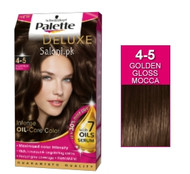 Schwarzkopf Palette Deluxe Intensive Oil Care Color Golden Gloss Mocha 4-5