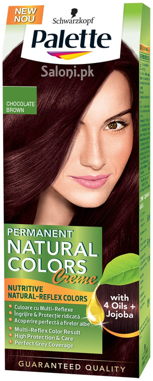 Schwarzkopf Palette Permanent Natural Colour Chocolate Brown 3-68