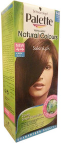 Schwarzkopf Palette Permanent Natural Colour Golden Brown 4-60 Front
