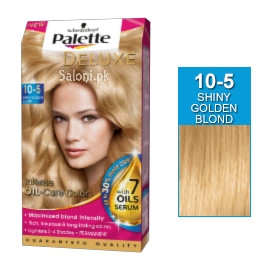 Schwarzkopf Palette Deluxe Intensive Oil Care Color Shiny Golden Blond 10-5
