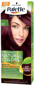 Schwarzkopf Palette Permanent Natural Colour Wine Red 4-89