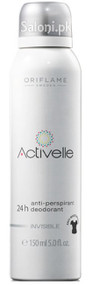Oriflame Activelle Invisible Anti-Perspirant 24H Deodorant Spray