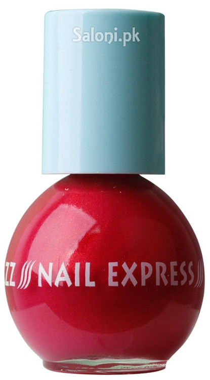 Dazz Matazz Nail Express Nail Polish 22 Cherry Crush Front
