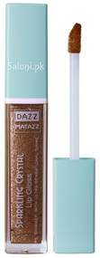 Dazz Matazz Sparkling Crystal Lip Gloss 04 Bronze Front