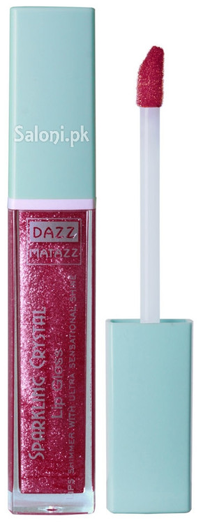 Dazz Matazz Sparkling Crystal Lip Gloss 16 Blossom Front