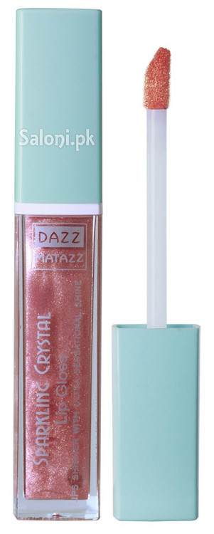 Dazz Matazz Sparkling Crystal Lip Gloss 23 Pansy Front