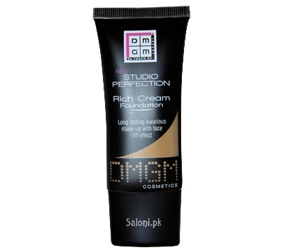 Dmgm Studio Perfection Rich Cream Foundation Latte 445 Front