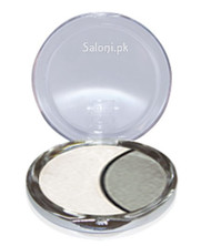 Dmgm Studio Perfection Duo Eye Shadow Satin White / Silver Gray 34 Front