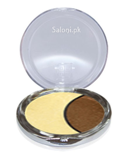Dmgm Studio Perfection Duo Eye Shadow Gold Frost / Chocolate Silk 35 Front