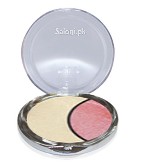 Dmgm Studio Perfection Duo Eye Shadow Satin White / Pink Orchid 36 Front