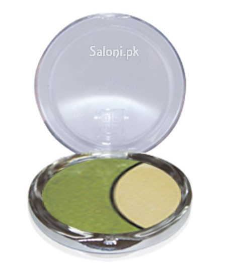 Dmgm Studio Perfection Duo Eye Shadow Forest Green / Gold Frost 40 Front