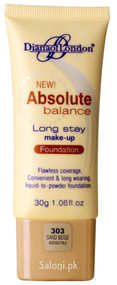 Diana Of London Absolute Balance Long Stay Make-up Foundation 303 Sand Beige Front