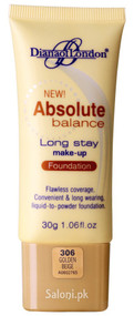 Diana Of London Absolute Balance Long Stay Make-up Foundation 306 Golden Beige Front