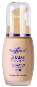 Diana Of London Shade Discovery Foundation 104 Brown Glow Front