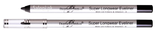 Diana Super Long Wear Eyeliner Pencil 07 Blackest Black Front