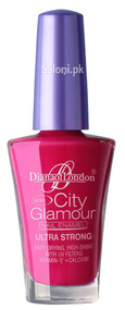 Diana City Glamour Nail Polish Pure Salmon 68