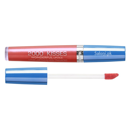 Diana 2000 Kisses Wonderful Lipstick 34 Madly Pink Front