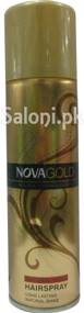 Nova Gold System Professional Hairspray (Front)