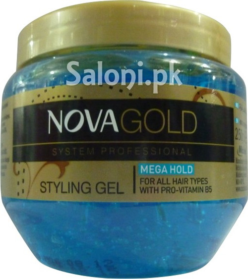 Nova Gold System Professional Styling Gel (Front)
