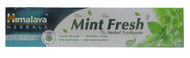 Himalaya Herbals Mint Fresh Herbal Toothpaste (Front)