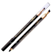 Diana Double Ended Eyebrow Pencil 01 Black Front