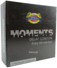 The Vitamin Company Moments Delay Condom Front