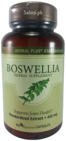 GNC Herbal Plus Standardized Boswellia Front