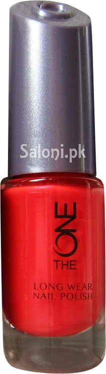 Oriflame The One Long Wear Nail Polish Red Sky Front