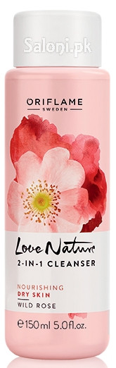 Oriflame Love Nature 2-in-1 Cleanser Wild Rose
