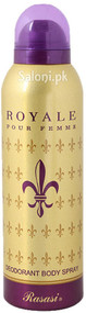 Rasasi Royale Pour Femme Deodorant Body Spray