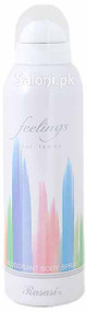 Rasasi Feelings Pour Femme Deodorant Body Spray