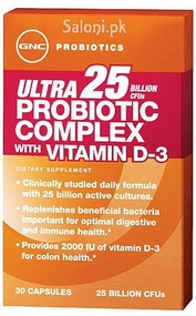 GNC Ultra Probiotic Complex 25 with Vitamin D-3