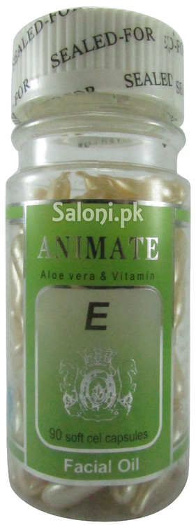 CSK Animate Aloe Vera & Vitamin E Facial Oil Front