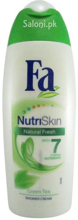 Fa NutriSkin Natural Fresh Green Tea Shower Cream Front