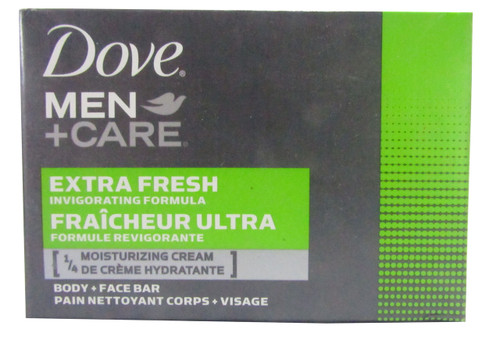 Dove Men + Care Extra Fresh Body and Face Bar 120 Grams