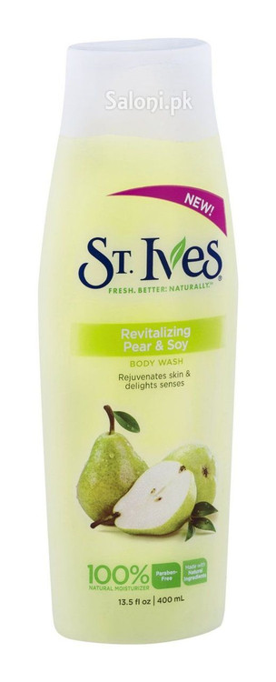 ST.Ives Revitalizing Pear & Soy Body Wash