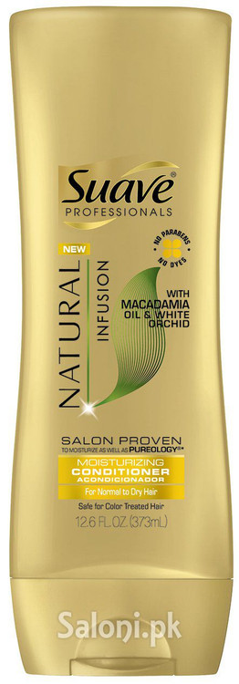 Suave Professionals Natural Infusion Macadamia Moisturizing Conditioner