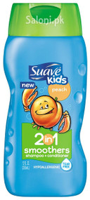 Suave Peach Smoothers 2-in-1 Shampoo & Conditioner