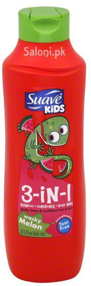 Suave Wacky Melon 3-in-1 Shampoo & Conditioner & Body Wash