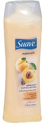 Suave Apricot Exfoliating Body Wash