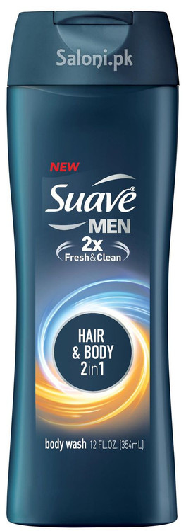 Suave Men Hair & Body 2-in-1 Body Wash