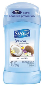 Suave Invisible Solid Antiperspirant Deodorant Coconut Kiss