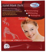 Cool & Cool Red Ginseng Facial Mask