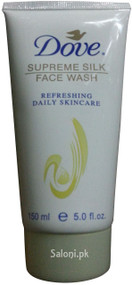 Dove Supreme Silk Face Wash Front