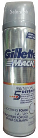 Gillette Mach3 Soothing Shaving Foam Front