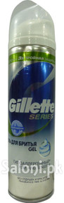 Gillette Series Pure And Sensitive Shave Gel (Front)