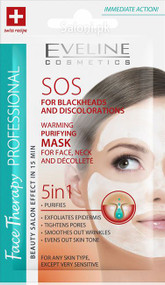 Eveline SOS For Blackheads And Discolorations Warming Purifying Mask