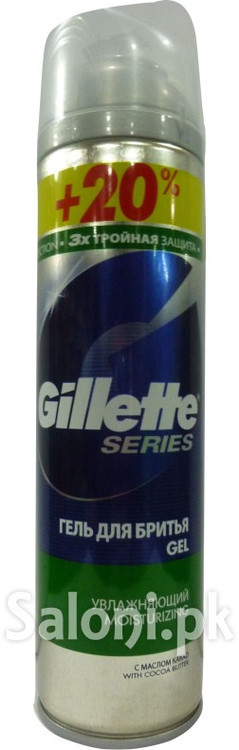 Gillette Series Moisturizing Gel 240 ML