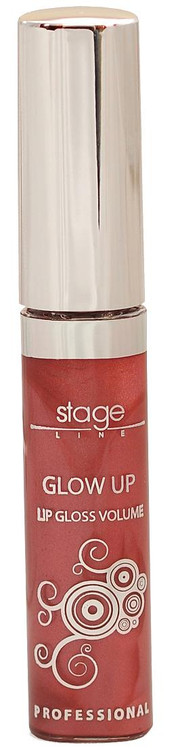 Stage Line Glow Up Lip Gloss Volume Coral